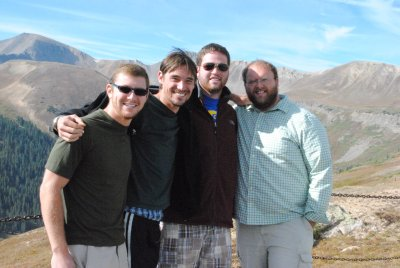 The 2010-2011 Novitiate at Independence Pass, Colorado